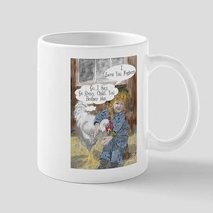 Foghorn and Girl Mugs