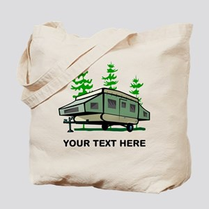 Camping Popup Trailer Home Tote Bag