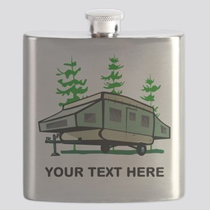 Camping Popup Trailer Home Flask