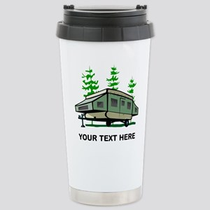 Camping Popup Trailer H Stainless Steel Travel Mug