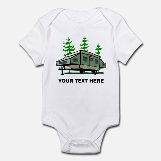 Camping Popup Trailer Home Infant Bodysuit