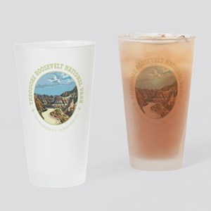 Theodore Roosevelt National Park Drinking Glass