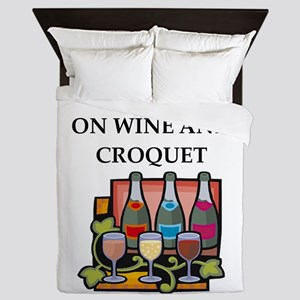 Croquet Queen Duvet