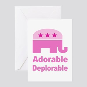 Adorable Deplorable Greeting Card