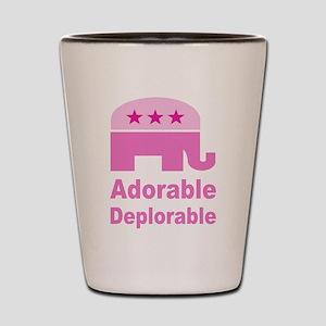Adorable Deplorable Shot Glass