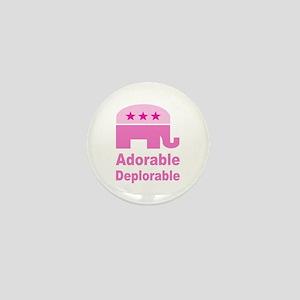 Adorable Deplorable Mini Button