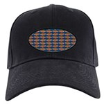 African Jewelfish Pattern on Blue Baseball Hat