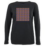 African Jewelfish Pattern on Blue T-Shirt