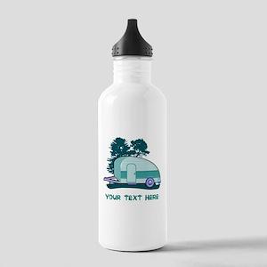 Personalize Teardrop T Stainless Water Bottle 1.0L