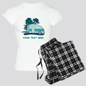 Personalize Teardrop Traile Women's Light Pajamas