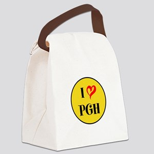 I love Pittsburgh Canvas Lunch Bag