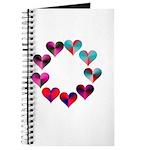Circle of Iridescent Hearts Journal
