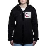 Circle of Iridescent Hearts Sweatshirt