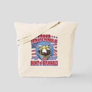 Basket of Deplorables Eagles Tote Bag