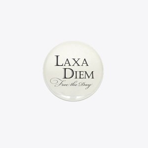 """Laxa Diem"" Mini Button"