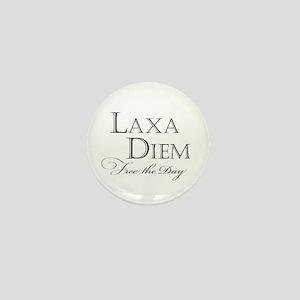 """""""Laxa Diem"""" Mini Button"""