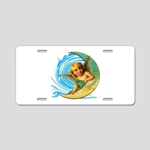 HEAVENS Aluminum License Plate