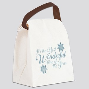Wonderful Time Canvas Lunch Bag