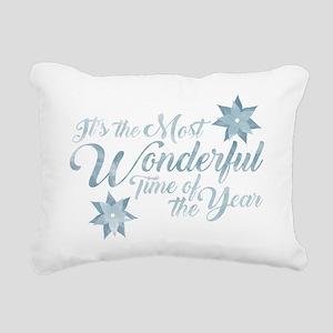 Wonderful Time Rectangular Canvas Pillow