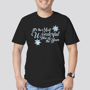 Wonderful Time Men's Fitted T-Shirt (dark)