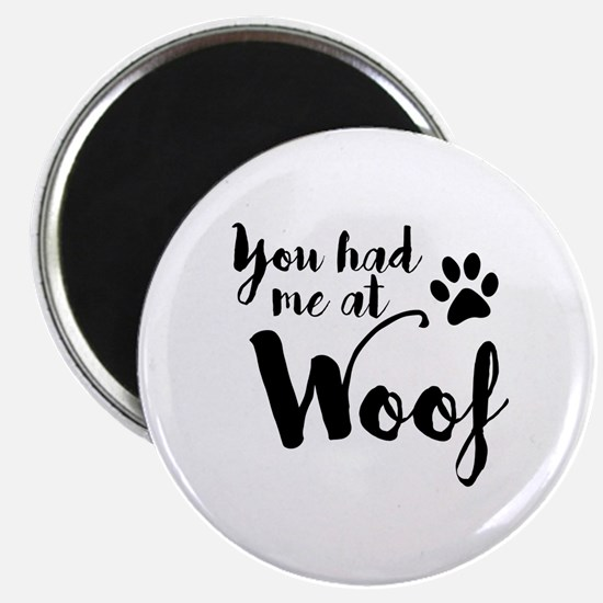 Funny Woof Magnet