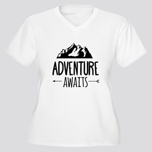 Adventure Awaits Plus Size T-Shirt