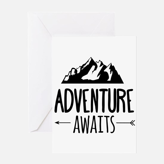 Cute Adventures Greeting Card