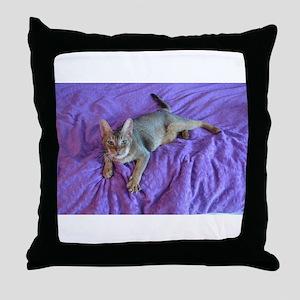 Rubio 2 Throw Pillow