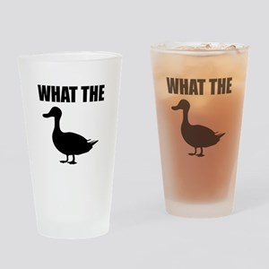 What The Duck Drinking Glass