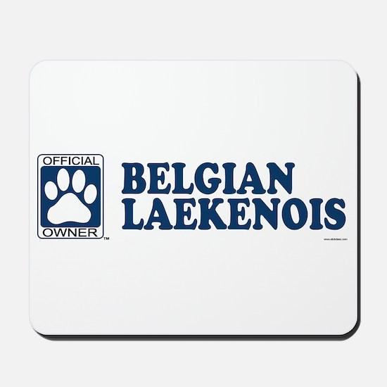 BELGIAN LAEKENOIS Mousepad