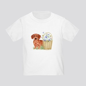 Wire Hd Dachshund Toddler T-Shirt