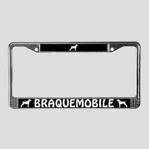 Braquemobile License Plate Frame
