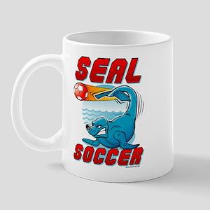 Seal Soccer Mug