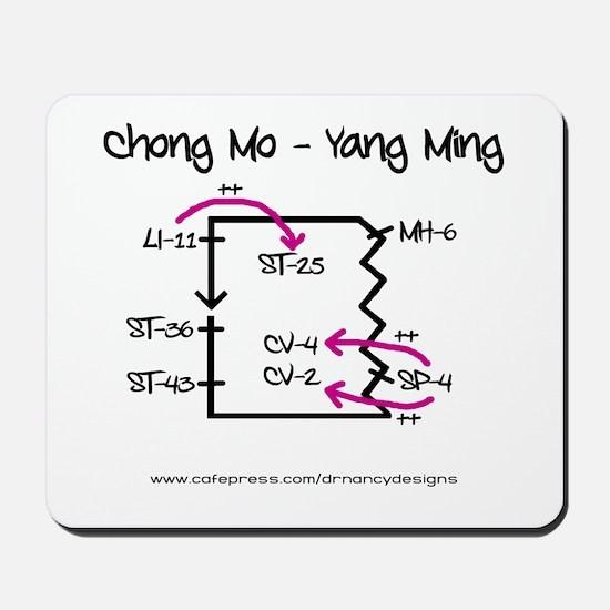Chong Mo - Yang Ming Mousepad