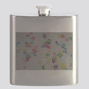 Paw Prints Flask