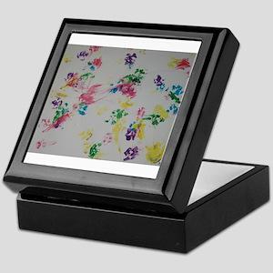 Paw Prints Keepsake Box