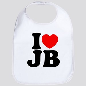 I Love Jam Bands Baby Bib