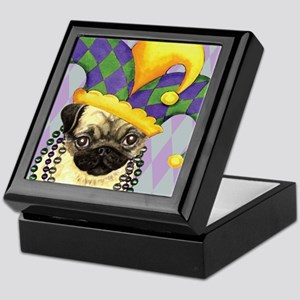 Party Pug Keepsake Box