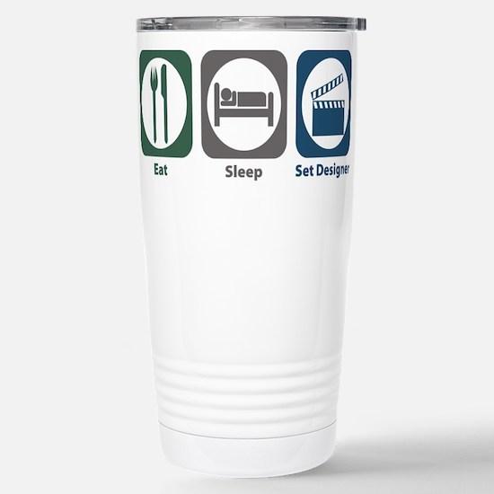 Eat Sleep Set Designer Mugs