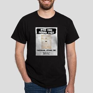 Censorship Offends Me (VetMan) T-Shirt