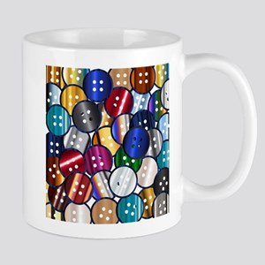 Color Button Collection Mugs