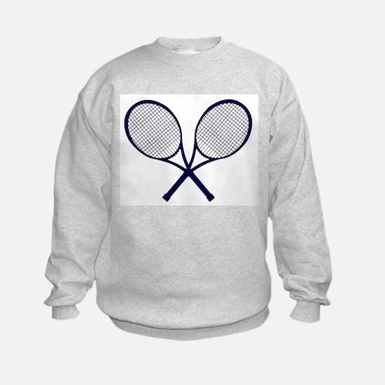 Crossed Rackets Silhouette Sweatshirt