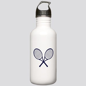Crossed Rackets Silhou Stainless Water Bottle 1.0L
