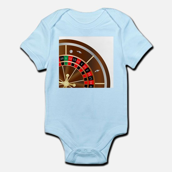 Roulette Wheel Spin Body Suit