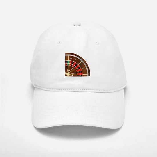 Roulette Wheel Spin Baseball Baseball Cap