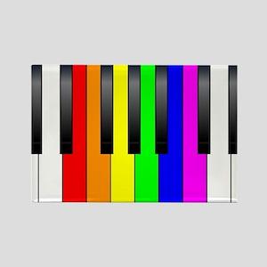 Trans Gay Piano Keys Magnets