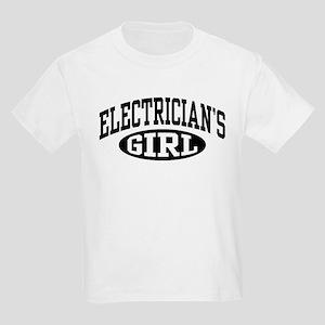 Electrician's Girl Kids Light T-Shirt
