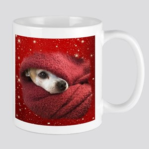 Holiday Chihuahua Mugs