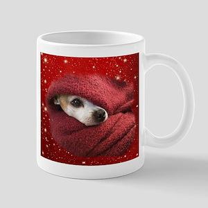 Holiday Chihuahua Mugs
