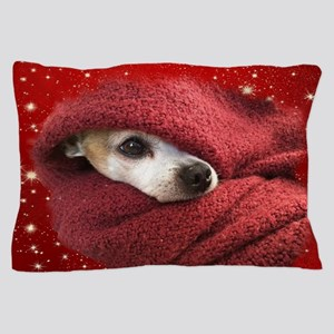 Holiday Chihuahua Pillow Case